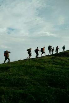 走进芙蓉山,露营、看日出