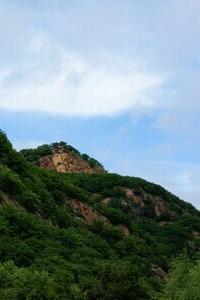6月20号端午节登高远望。登第二高峰 摩天岭