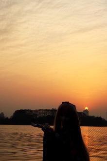 3.27周五晚上夜走琵琶湖~前湖~紫霞湖