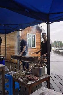 周六太湖 烧烤 露营