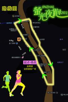 6月27日18:30红军广场开始夜跑