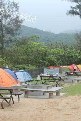 5月份香港贝澳露营场露营