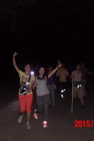 平湖生态园每周二、四夜徒10公里