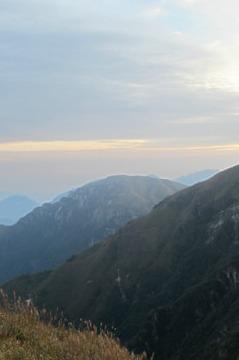 11月27日-30日武功山-明月山重装徒步全穿4天