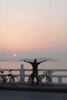 骑迹运动俱乐部2015年10月14日夜骑太湖游客中心