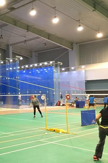 4月6号周三晚文灶地丰球馆羽毛球活动,欢迎参加
