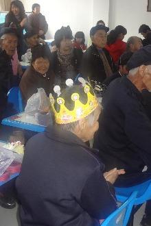 青春暖阳志愿行—2015走进红古养老院慰问活动