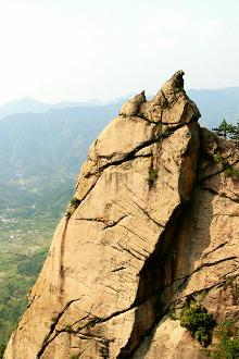 勇攀神山-绩溪门前岩