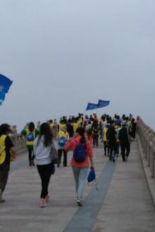 17号星期天护城河健身步道徒步