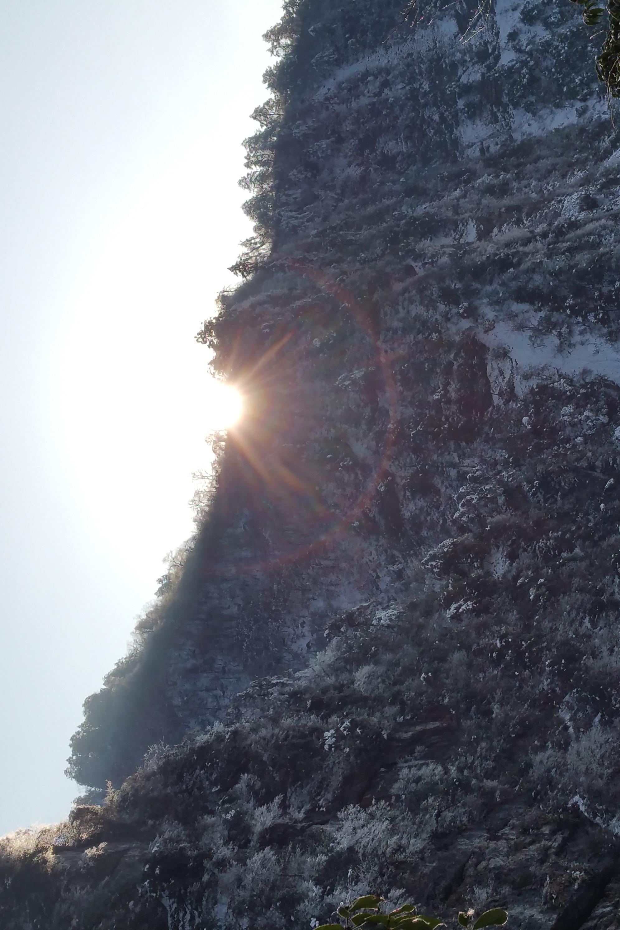 九峰之踏雪望星追日
