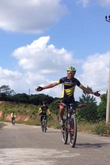 自行车骑行活动:2015年12月16号骑行云炉