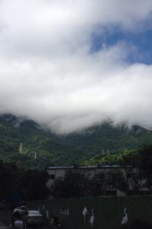 清溪森林公园攀山