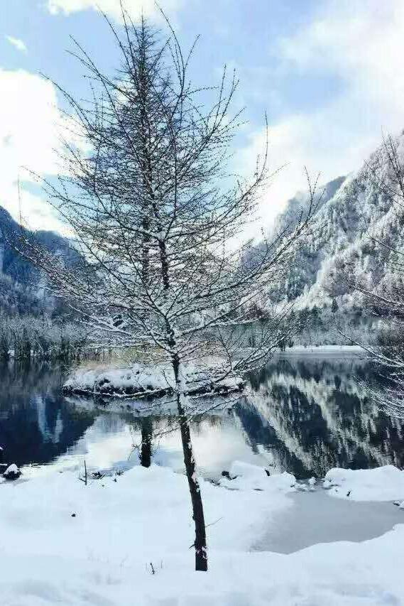 毕棚沟、甘堡藏寨雪景二日游