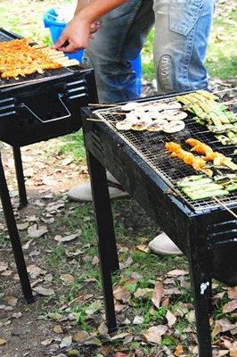 1月2号宝中旅游组织——东岳山烧烤