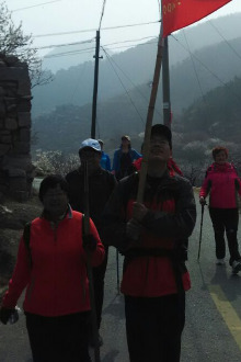 探险营4.4五莲山,5日桃花溪。5日6日大珠山。6日黄花溪