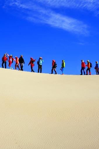 10月2-3日库伦沙漠露营、撕名牌、滑沙活动