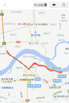 佳木斯华夏东极跑团约跑活动郑开线上马拉松