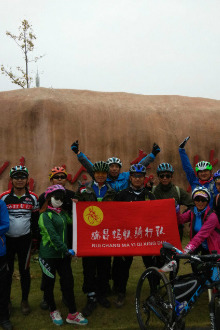 骑行德安九仙岭森林公园
