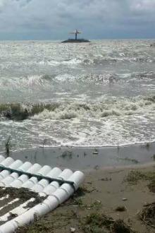 辽滨金帛湾洗海澡