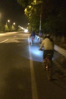 周五骑车紫荆公园