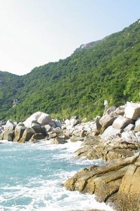 1月1日深圳大鹿港至鹅公湾海岸线穿越活动