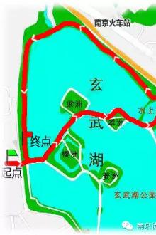 """6月17日""""夜走玄武湖""""!"""