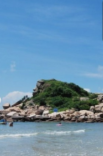 醉美狮子岛海岸线穿越 抓海胆,捞海带,戏小虾