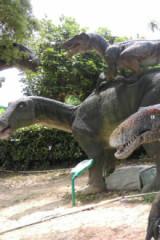 恐龙大型展示
