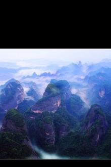 清明节崀山三日徒步