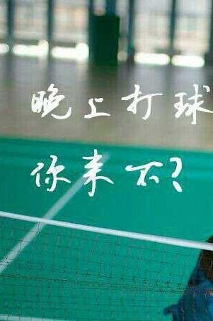 周三晚上19:30春辉羽毛球活动报名