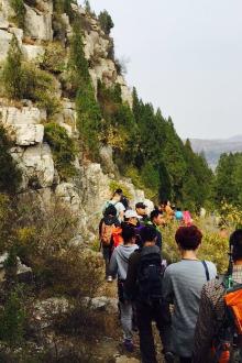 垦利健康登山活动