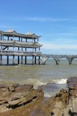 7月23号防城港簕山古渔村、天堂滩海边一日游58元