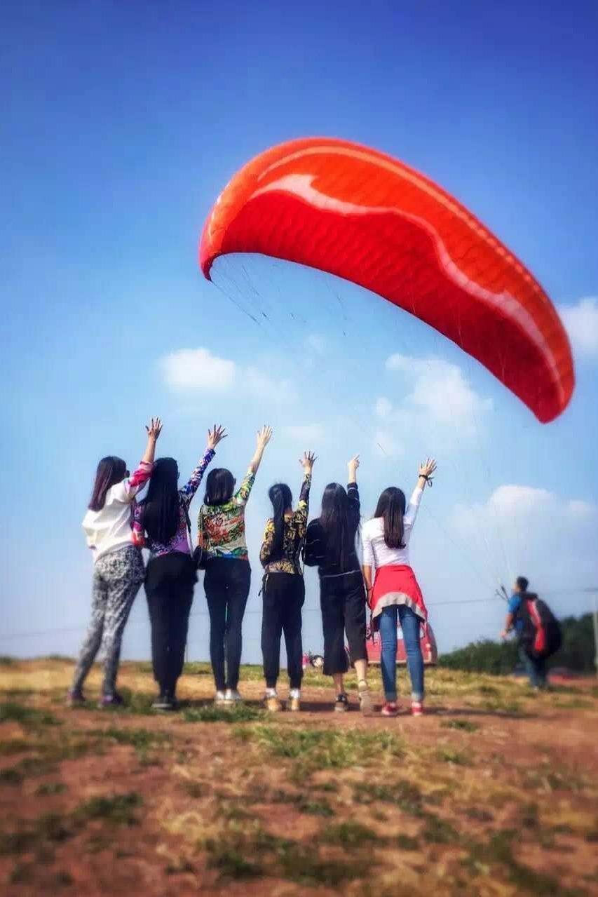 【滑翔伞】(7.2号)圆一个上天的梦 . 滑翔伞