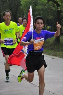 徐汇滨江跑步者联盟之2016年8月30号夜跑