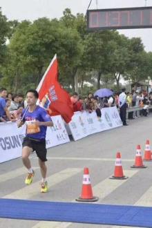 徐汇滨江跑步者联盟之2016年9月13号夜跑