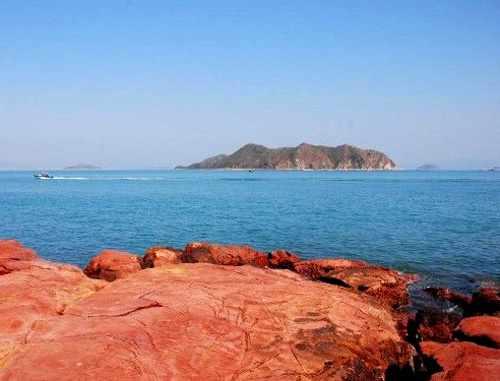 深圳最惊险剌激的红排角海岸线穿越