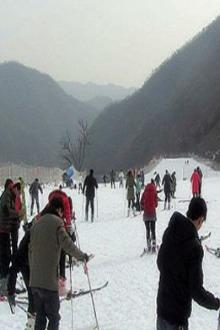 12月20日爱驴窝户外约伴王屋山滑雪场嗨皮一整天