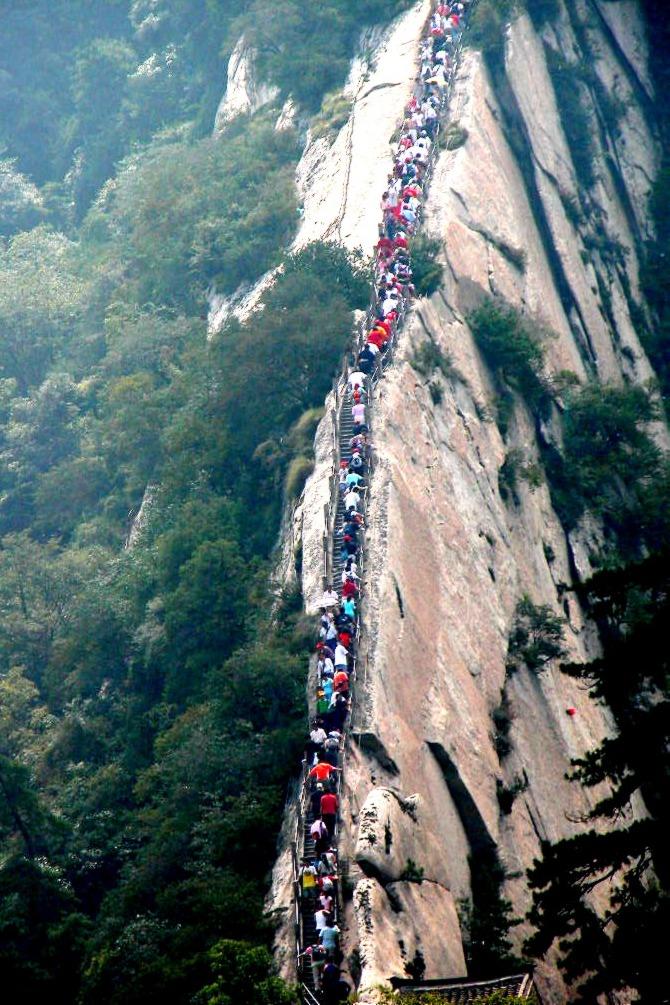 9月3-4野爬五岳之尊西岳华山、一起华山论剑!