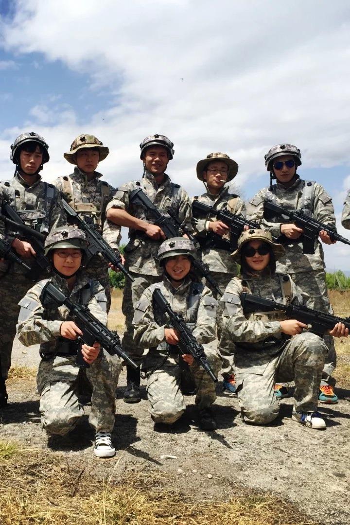 【云大旅院真人CS反恐行动】最真实的战场与顶级的装备