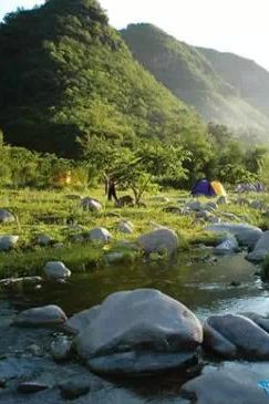 北京唯美露营地海坨山登山 野炊 露营