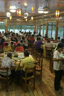 相约鹏林农家乐,水果采摘,水上餐厅别有一番滋味!