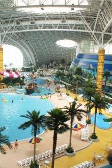 2015年12月20日天津米立方温泉水世界一日游