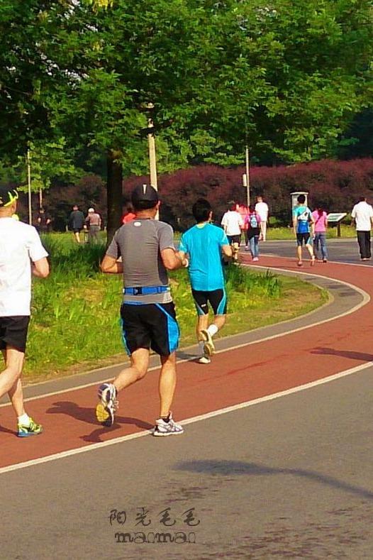 与马凡同行-奥林匹克公园徒步行公益活动