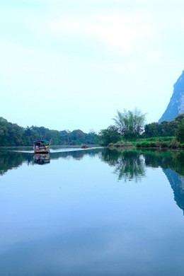 大新黑水河游船《花千骨》外景拍摄地、德天瀑布二日
