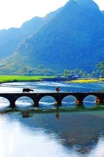 8月13-14靖西鹅泉渠洋湖龙潭公园三叠岭瀑布二日