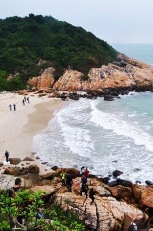 4月26号周日深圳七星湾-桔钓沙海岸线穿越开炉腐败