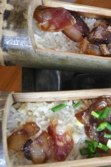 从化溪头野炊戏水 户外拓展 做竹筒饭  竹林徒步