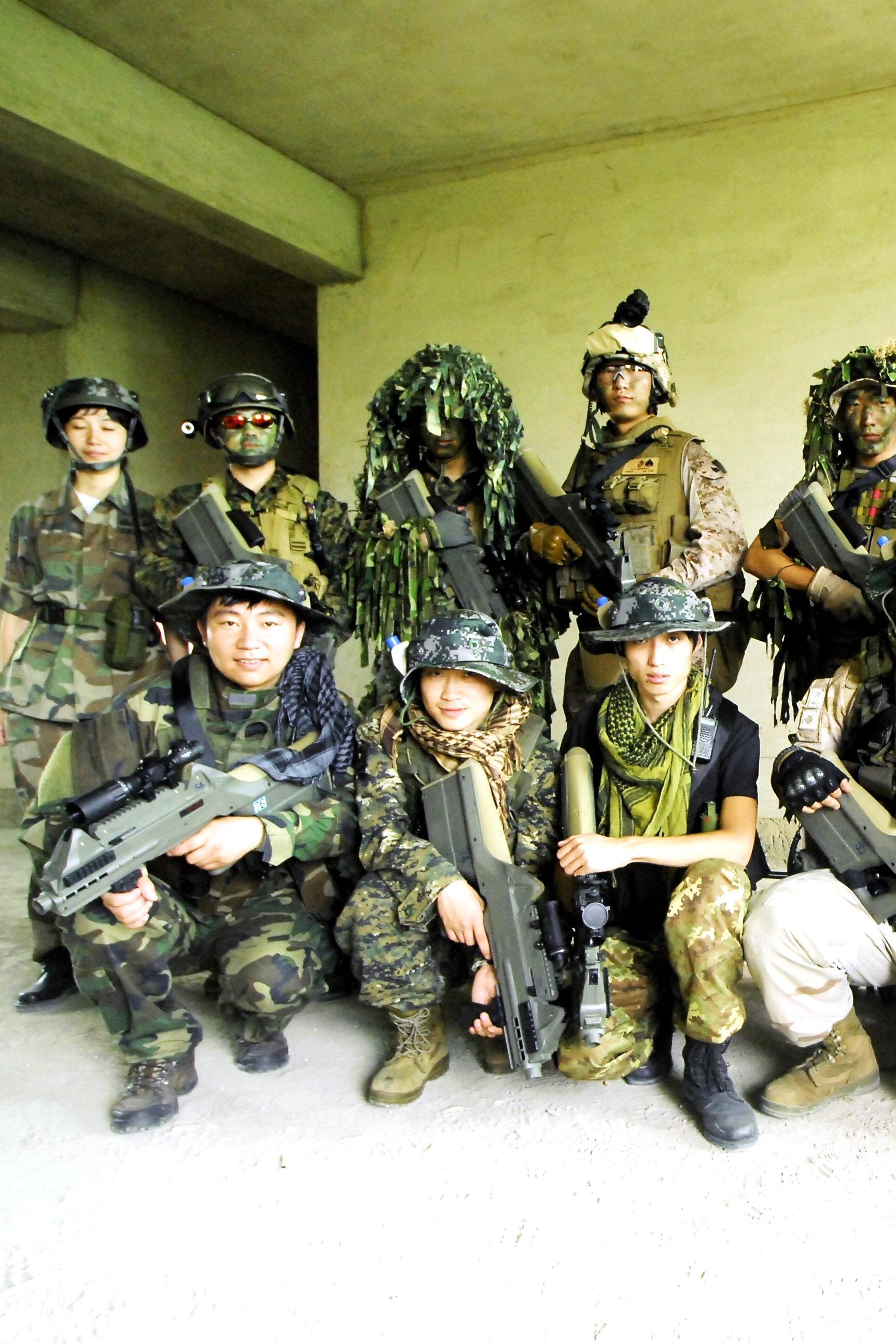 阜阳勇士真人CS 比赛赢装备 第4期活动( 限30人 )