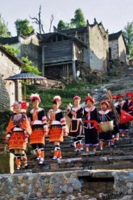 5月14-15日英西峰林 千年瑶寨 瑶族篝火晚会
