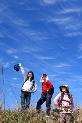 12月4日登三面环海的七娘山 地质博物馆一天